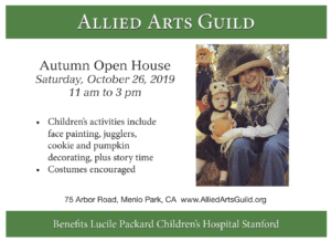 Autumn Open House at Allied Arts Guild in Menlo Park